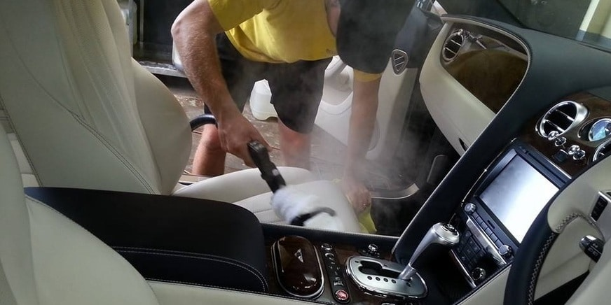 How to Clean Leather Car Seats by Steam Cleaner