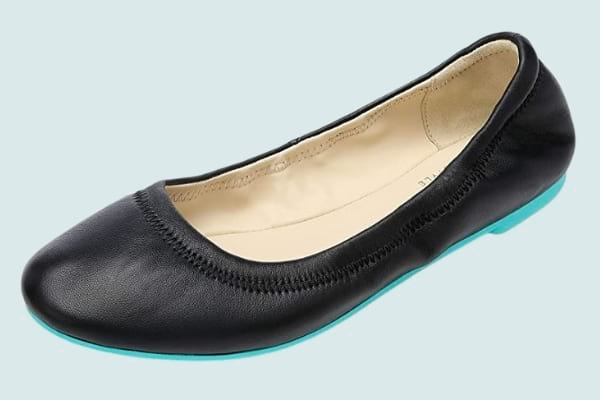 CZZPTC Women's Ballet Flats Lambskin Loafers
