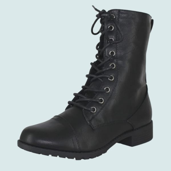 Forever Ink Military Boots for Women