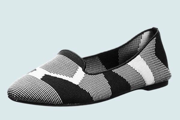 Skechers Women's Knit Loafer Skimmer Ballet Flat
